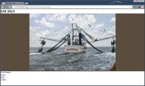 Screen Shot of a Picasa Web Album in Unslider