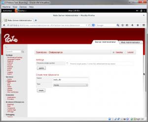 Railo Datasource
