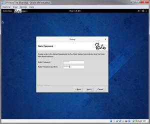 Set Railo Administrator Password